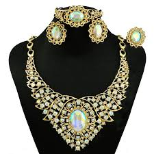 gold filled necklace set images Gold filled jewelry sets african jewelry sets beads jewelry sets jpg