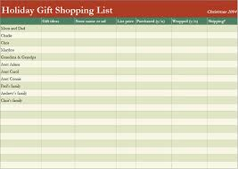 gift shopping list 7 shopping list templates office templates online