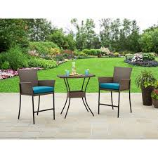 Balcony Bistro Set Patio Furniture Better Homes And Gardens Fairfield Bay 3 Balcony Bistro Set