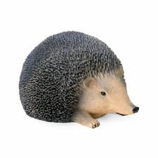 buy lifelike resin hedgehog ornaments for the garden large from