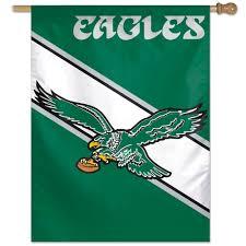 Flag Of Philadelphia Philadelphia Eagles Throwback Nfl Vertical Flag Nfl Football