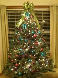 christmas tree with colored lights colored christmas tree lights happy holidays