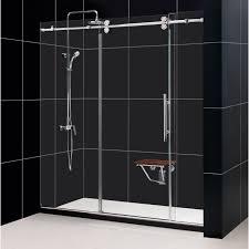 Black And Silver Bathroom Bathroom Chic Dreamline Shower Doors For Interesting Bathroom