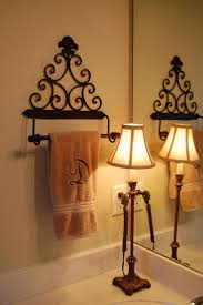 best ideas about towel holder bathroom pinterest diy bless our nest small change big difference towel holder from hobby lobby