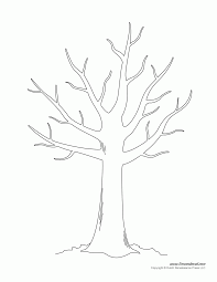 tree with no leaves coloring page coloring pages for kids and
