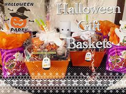 d i y halloween gift basket 2015 youtube