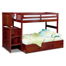Queen Size Bed With Trundle Bunk Beds Stairway Loft Bed Bunk Beds With Slide Double Over