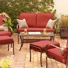 Patio Cushions Home Depot Endearing Replacement Patio Furniture Cushions With Cushion