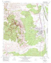 New Mexico Topographic Map by Topo Maps