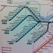 Green Line Mbta Map by Mappuracy Matters U2014 Cyrus Dahmubed Iqubed Design