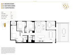 747 floor plan 888 collins street docklands