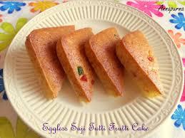 tutti cuisine annapurna eggless suji tutti frutti cake