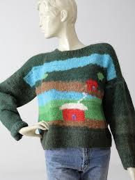 vintage knit novelty sweater 86 vintage