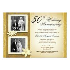 photos wedding anniversary invitation card