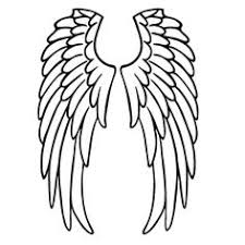 easy outlines angel outlines free download best angel outlines on clipartmag com