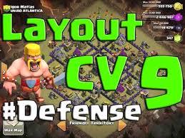 layout vila nivel 9 clash of clans clash of clans melhor layout para centro de vila nível 9 town