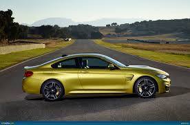 Bmw M3 Yellow Green - ausmotive com 2014 bmw m3 sedan and m4 coupe revealed