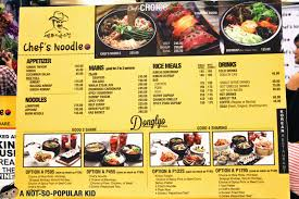 chefs cuisine authentic contemporary cuisine in chef s noodle restaurant