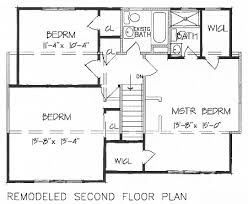 floor layouts add a second floor cap04 5179 the house designers
