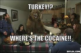 Bear Cocaine Meme - turkey meme cocaine bear meme generator diy lol funny