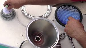 pool light fixture replacement how to install an led pool light bulb youtube