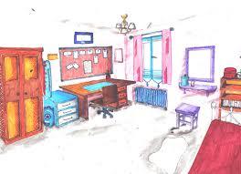 dessiner une chambre en perspective chambre en perspective point de fuite chaios com