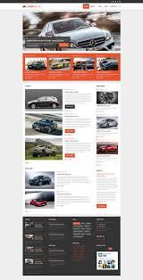 lexus car website cars news joomla theme