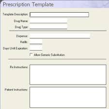dental software dentimax prescription templates