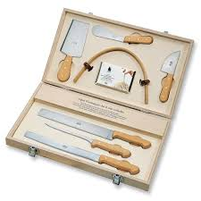 berti italian cheese knife set boxwood