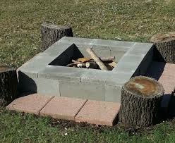 Block Firepit Cinder Block Pits Types Design Ideas And Tips How To Build It