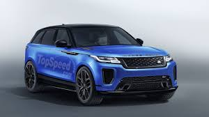 range rover blue 2019 land rover range rover velar svr review top speed