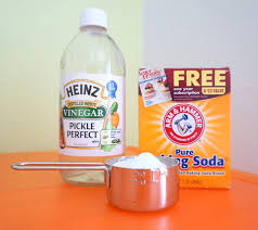How To Clean Sheets With Baking Soda And Vinegar - Cleaning kitchen sink with baking soda