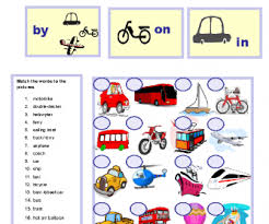 139 free transport worksheets