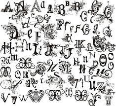 gothic lettering font lettering vertical font gothic alphabet font