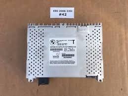 bmw satellite radio 06 oem bmw e90 325 330 328 satellite radio receiver sirius dlp