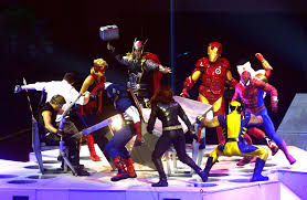 marvel universe live superhero comics game concert cosplay