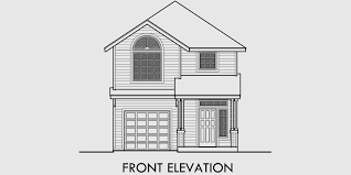 gable roof house plans narrow house plan at 22 wide open living 3 bedroom 2 5 baths