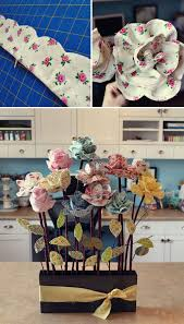 25 unique fabric flowers ideas on pinterest ribbon crafts felt
