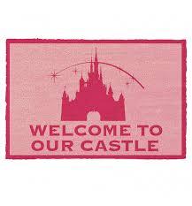 Disney Doormat Disney Princess Welcome To Our Castle Door Mat