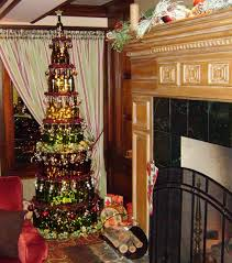 wine bottle christmas trees and other hotel holiday celebrations