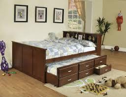 bookcase headboard queen solid wood queen storage pedestal bed