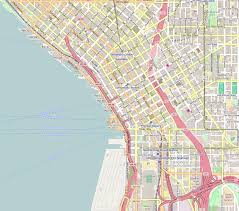 Federal Way Seattle Map by File Seattle Wa Downtown Openstreetmap Png Wikimedia Commons