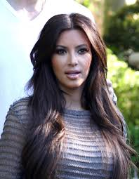 kim kardashian long straight cut kim kardashian long hairstyles
