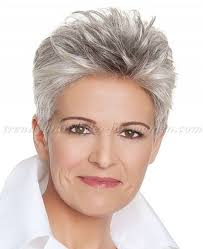 short hairstyles over 50 short grey hairstyle trendy