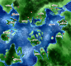 Sinnoh Map O Legacies O Map Pokemon Nation By Alataya On Deviantart