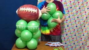 football centerpieces football balloon centerpiece decoration