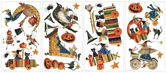 witch craft wall stickers for halloween wall2wall witch craft wall stickers for halloween