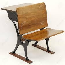 vintage wood desk one vintage metal and wood desk and chair intended