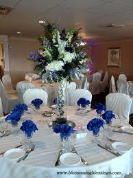 Blue Wedding Centerpieces by 12 Best Wedding Centerpieces Images On Pinterest Centerpiece