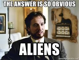 Giorgio Tsoukalos Memes - the answer is so obvious aliens giorgio tsoukalos meme generator